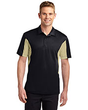 Sport-Tek TST655 Men Tall Side Blocked Micropique Sport-Wick Polo at GotApparel