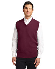 Port Authority SW301 Men Value V-Neck Sweater Vest at GotApparel