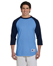 Champion T1397 Men 5.2 oz. Raglan Baseball T-Shirt at GotApparel