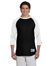 Custom Embroidered Champion T1397 Men 5.2 Oz. Raglan Baseball T-Shirt at GotApparel