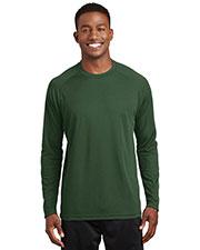Sport-Tek® T473LS Men Dry Zone Long-Sleeve Raglan T-Shirt at GotApparel