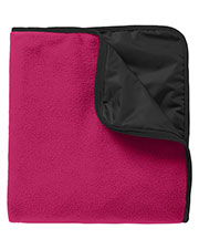 Port Authority TB850 Unisex Fleece Poly Travel Blanket at GotApparel