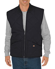 Dickies TE242T Unisex Tall Diamond Quilted Nylon Vest at GotApparel