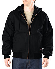 Dickies TJ245T Men Tall Sanded Duck Hooded Jacket at GotApparel