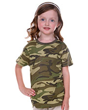 Toddlers Camouflage Crew Neck Short Sleeve Tee at GotApparel
