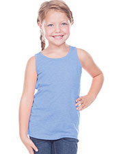 Toddlers Sheer Jersey Scoop Neck Tank at GotApparel
