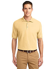 Port Authority TLK500 Men Tall Silk Touch™ Polo at GotApparel