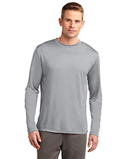 Sport-Tek TST350LS Men Tall Long-Sleeve PosiCharge™ Competitor™ Tee at GotApparel