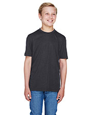 Team 365 TT11HY Boys 3.8 oz Sonic Heather Performance T-Shirt at GotApparel