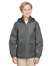 Team 365 TT73Y Boys Youth Zone Protect Lightweight Jacket at GotApparel
