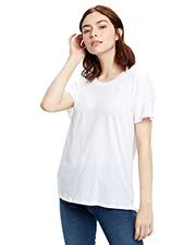 US Blanks US115 Women Ladies' Short-Sleeve Loose Fit Boyfriend Tee at GotApparel