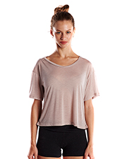 US Blanks US309 Women Ladies' 4.2 oz. Boxy Open Neck Top at GotApparel