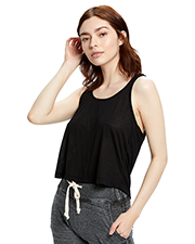 US Blanks US510 Ladies 2.5 oz Sheer Cropped Racer Tank at GotApparel