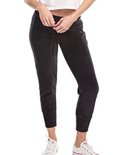 US Blanks US571 Women Velour Pants at GotApparel