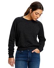 US Blanks US838 Women Sponge Fleece Crop Top at GotApparel