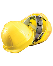 OccuNomix V200 Unisex Regular Brim Ratchet Suspension Hard Hat at GotApparel