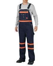 Dickies VB501 Men Enhanced Visibility Denim Bib Overall at GotApparel