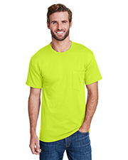 Hanes W110 Adult 5 oz Workwear Pocket T-Shirt at GotApparel