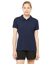 All Sport W1709 Women's for Team 365 Performance Three-Button Mesh Polo at GotApparel