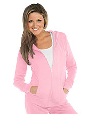 Women Long Sleeve Zip Hoodie With Pouch at GotApparel