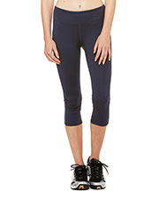 All Sport W5009 Women for Team 365 Capri Legging at GotApparel