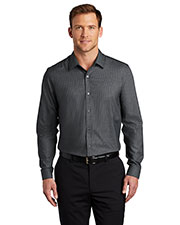 Port Authority W645 Men Pincheck Easy Care Shirt at GotApparel