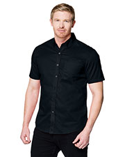 Tri-Mountain W700SS Men Regal Button-Down Short Sleeve Shirt at GotApparel
