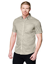 Tri-Mountain W700SS Men Regal Button-Down Short-Sleeve Shirt at GotApparel