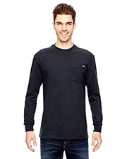 Dickies WL450T Men 6.75 Oz. Heavyweight Work Long-Sleeve Tall T-Shirt at GotApparel