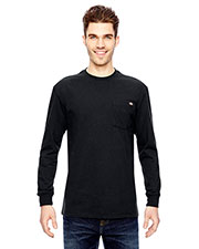 Dickies WL450 Adult 6.75 oz. Heavyweight Work Long-Sleeve T-Shirt at GotApparel