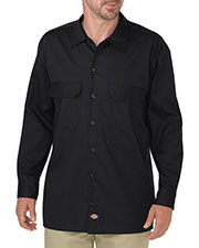 Dickies WL675 Men FLEX Relaxed Fit Long-Sleeve Twill Work Shirt at GotApparel