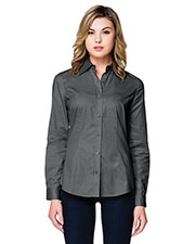 Tri-Mountain WL700LS Women Regal Long Sleeve Woven Shirt at GotApparel