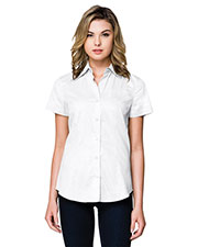 Tri-Mountain WL700SS Women Regal Short Sleeve Woven Shirt at GotApparel