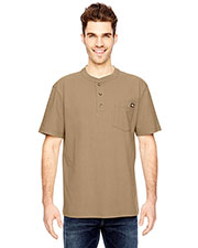 Dickies WS451 Adult Heavyweight Work Henley at GotApparel