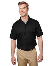 Dickies WS673 Men Short Sleeve Slim Fit Flex Twill Work Shirt at GotApparel