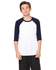 All Sport Y3229 Unisex Boys for Team 365 Baseball Shirt at GotApparel