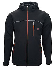 Walls Outdoor YJ742 Men Storm Protector Hooded Solid Soft Shell Jacket at GotApparel