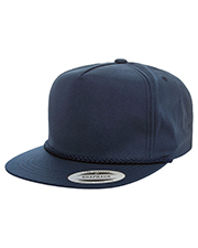Yupoong YP6002 Classic Poplin Golf Snapback at GotApparel