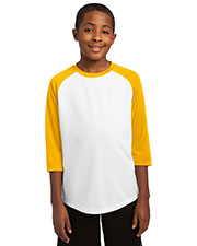 Sport-Tek YST205 Boys PosiCharge™ Baseball Jersey at GotApparel