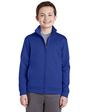 Sport-Tek YST241 Boys Fleece Full Zip Jacket at GotApparel