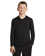 Sport-Tek YST358 Boys 3.8 oz Competitor Hooded Pullover at GotApparel