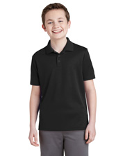 Sport-Tek YST640  ®  Youth Posicharge ®  Racermesh ®  Polo. at GotApparel