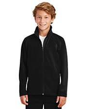 Sport-Tek® YST90 Boys Tricot Track Jacket at GotApparel