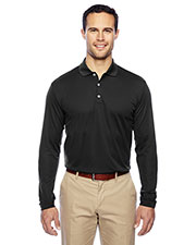 Adidas A186 Men Golf ClimaLite Long Sleeve Polo at GotApparel