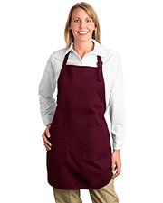 Port Authority A500 Unisex Full Length Apron with Pockets at GotApparel