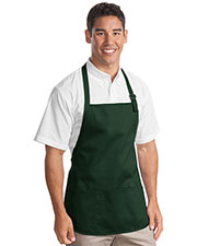 Port Authority A510 Unisex Medium Length Apron with Pouch Pockets at GotApparel