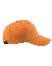 Adams AD969 6-Panel Low-Profile Washed Pigment-Dyed Cap at GotApparel