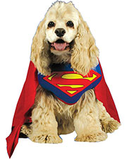SUPERMAN PET COSTUME LARGE at GotApparel