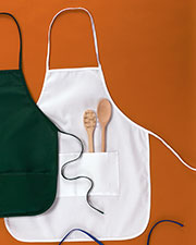 "Big Accessories / BAGedge APR52 Unisex Two-Pocket 28"" Apron at GotApparel"