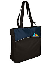 Port & Company B1510 Unisex Improved Two-Tone Colorblock Tote at GotApparel
